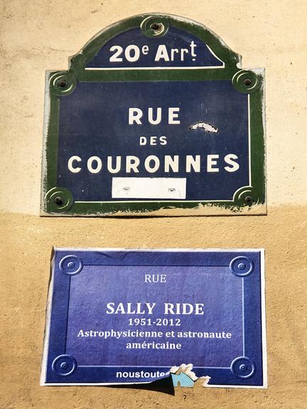 Rue Sally Ride