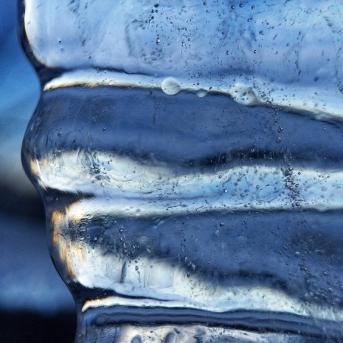 Corrugated Ice
